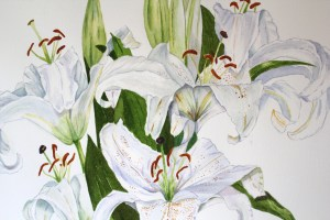 Horrell - Lilies Detail